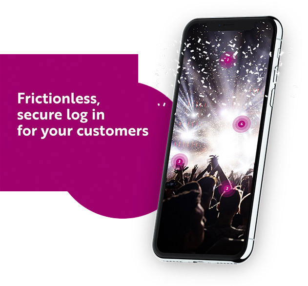 Frictionless, secure log in for your customers